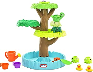 Little Tikes Magic Flower Water Table with Blooming Flower and 10+ Accessories, Multicolor, (Model: 651342M)