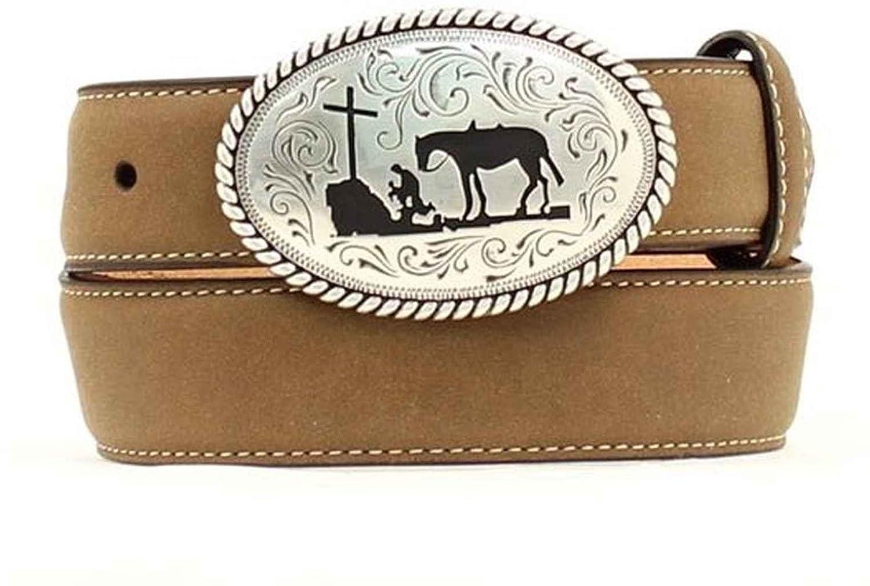 Nocona Boy's Cowboy Prayer Buckle Belt
