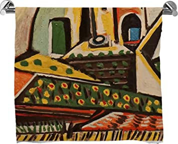 Paisaje mediterráneo por Pablo Picasso Full Print toalla de baño: Amazon.es: Hogar