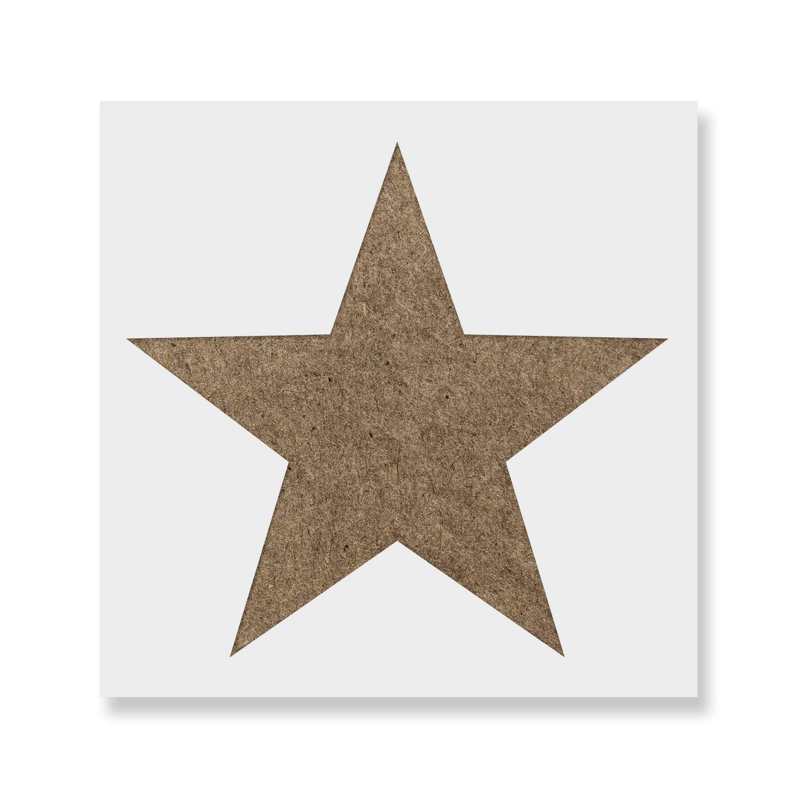 Star Stencil Template for Walls and Crafts - Reusable Stencils for Painting in Small & Large Sizes