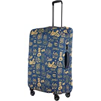 Nasher Miles Eco Friendly Polyester 65 cm (24 Inch) Medium Protective Luggage Cover (Dark Blue)