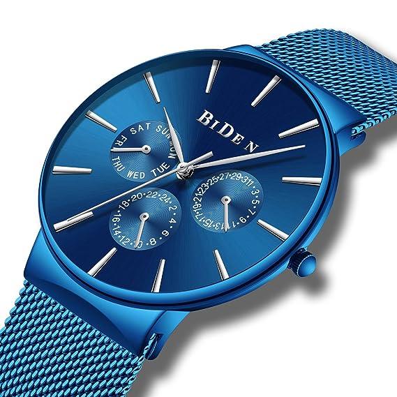 Relojes Deportivo Digital Para Hombres Adolescentes y Niño 50m Impermeable Electrónico Dial Grande Militar 7 ColorLED