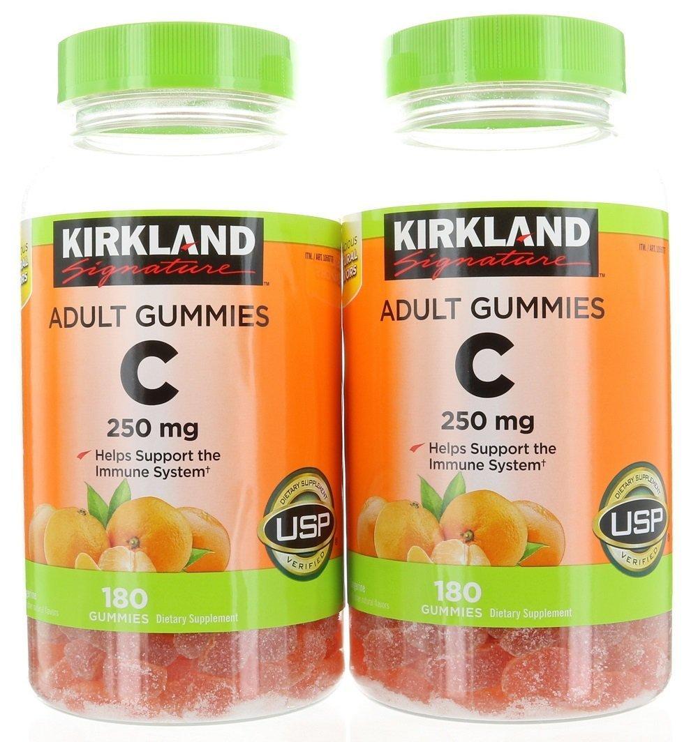 Kirkland Signature Vitamin C 250 mg., 360 Adult Gummies by Kirkland Signature