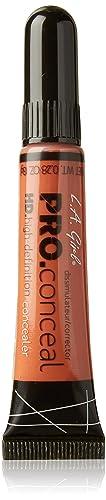 L.A. Girl Pro Coneal Hd High Definiton Concealer 0.28 Oz #990 Orange