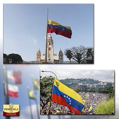 ADATECH BANDERA DE VENEZUELA 90x150 CM Bandera venezolana 100% Poliester Nueva: Amazon.es: Deportes y aire libre