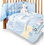 Clair de Lune Ahoy Cot/ Cot Bed Quilt and Bumper Set (2 Pieces)