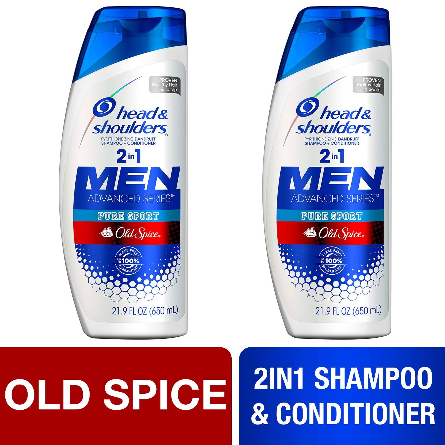 Head and Shoulders Anti Dandruff, Pack of 2 by Head & Shoulders
