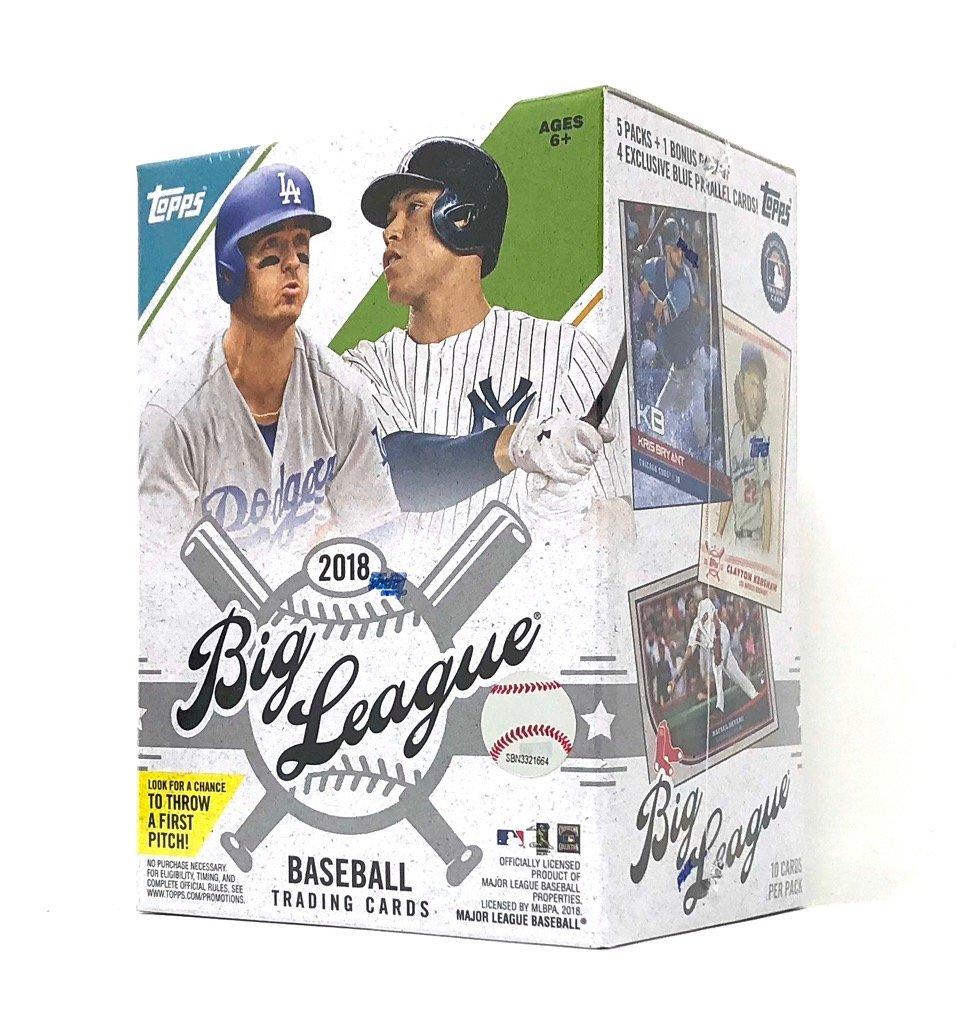 Topps 2018 Big League Baseball Retail Mass Value Box
