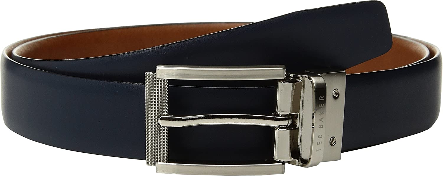 a91be537265875 Ted Baker Reva Reversible Textured Leather Belt - Tan  Amazon.co.uk   Clothing