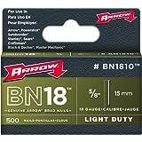Arrow Fastener BN1810 Genuine 5/8-Inch Brown Brad Nails, 500-pack