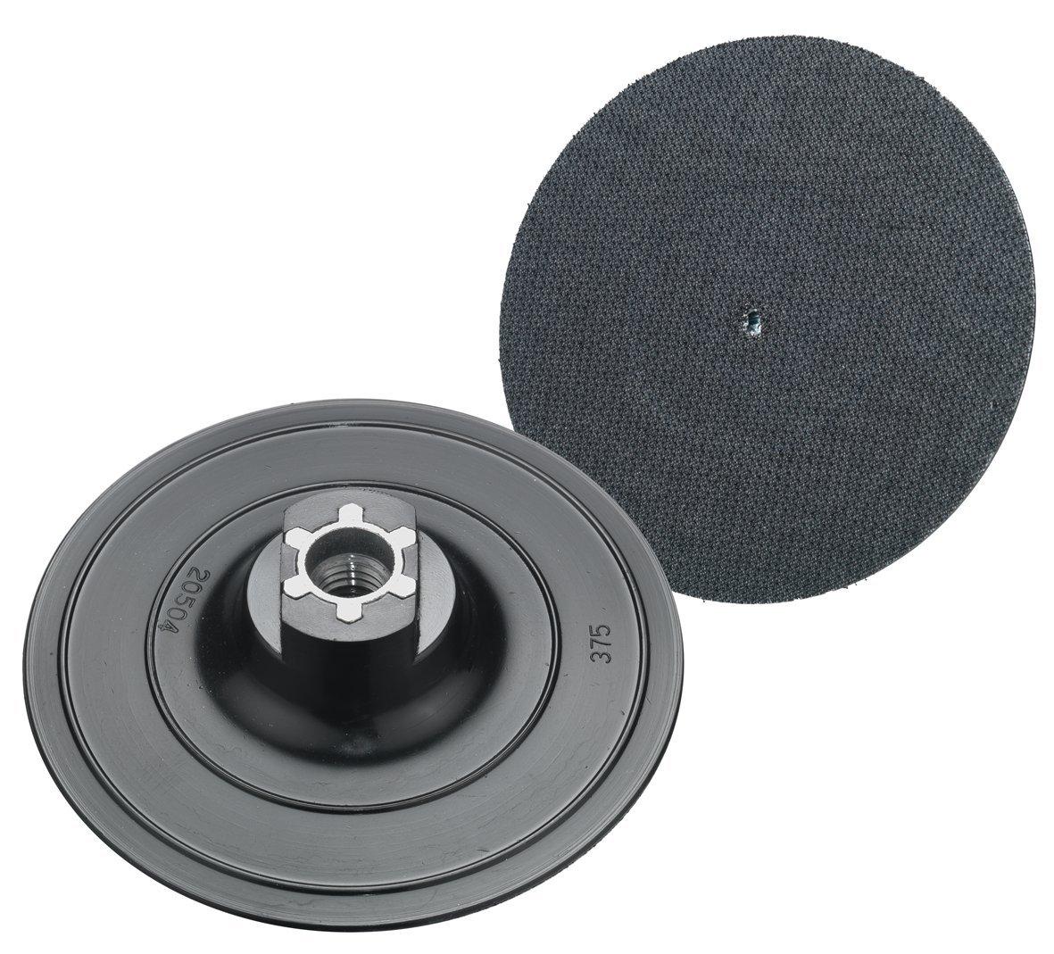 Connex COM191123 - Disco per pulizia in velcro con filettatura M14 per levigatrice angolare e macchine per la pulizia, 123 mm