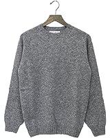 (インバーアラン) INVERALLAN『Crew Neck Sweater-Saddle』(Medium Grey)