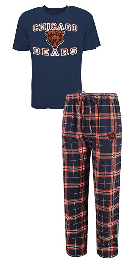 chicago bears youth flannel pants