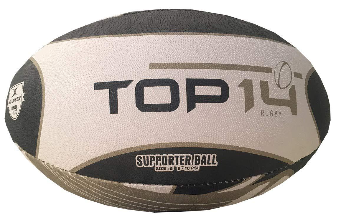 Gilbert Top 14 - Balón de Rugby (Talla 5): Amazon.es: Deportes y ...