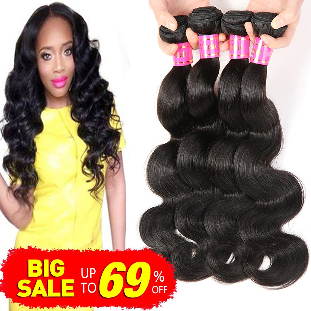Amazon Brazilian 10a Grade Brazilian Virgin Curly Hair Weave 4