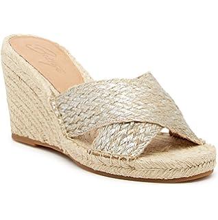 df4d230538b Bettye Muller Hanna Jute Rope Wedge Sandal Silver