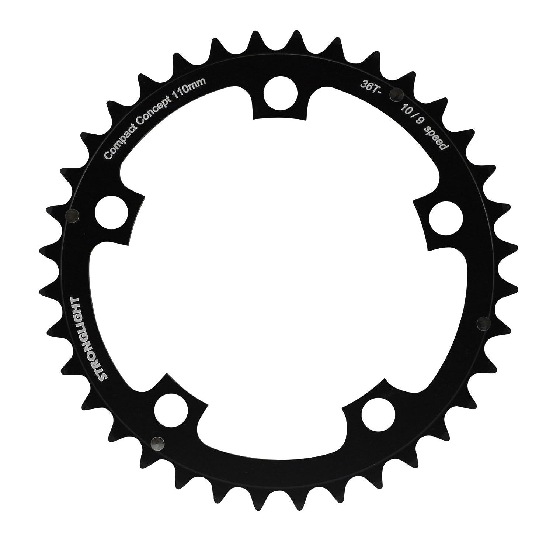 Stronglight - Plato para cadena de bicicleta de aluminio, rueda dentada de 5 agujeros: Amazon.es: Deportes y aire libre