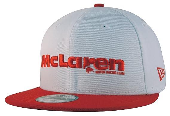 Mclaren Honda New Era Est 1963 Kiwi White Red Snapback Cap (Medium-Large 5f4f4d24e019