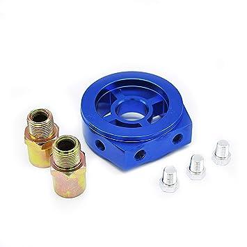 MODAUTO Sándwich para manómetro,Adaptador para relojes de presión o temperatura de aceite y radiador