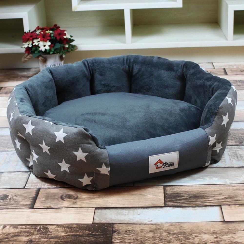 A Medium A Medium Weiwei Kennel Washable Pet Supplies Medium Canine Dog Bed Cushion pet nest Cat Nest