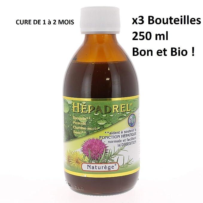 hepadrel X3 - Pack de Cure completa del hígado y de la ...