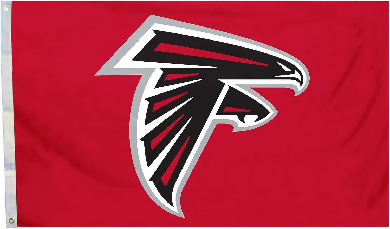 3 x 5-Feet NFL Atlanta Falcons Flag with Grommets