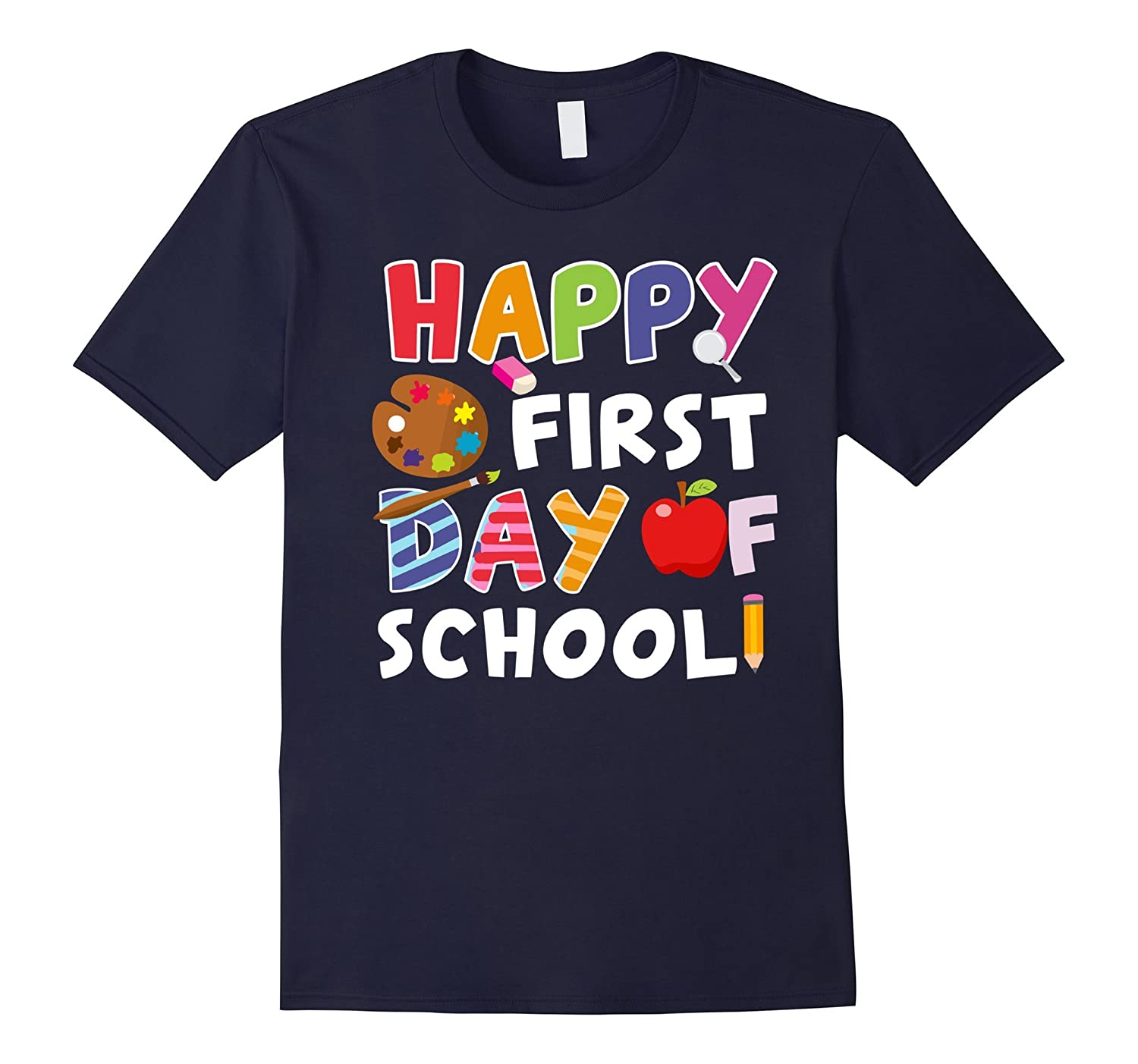 Happy First Day of School Shirt-BN