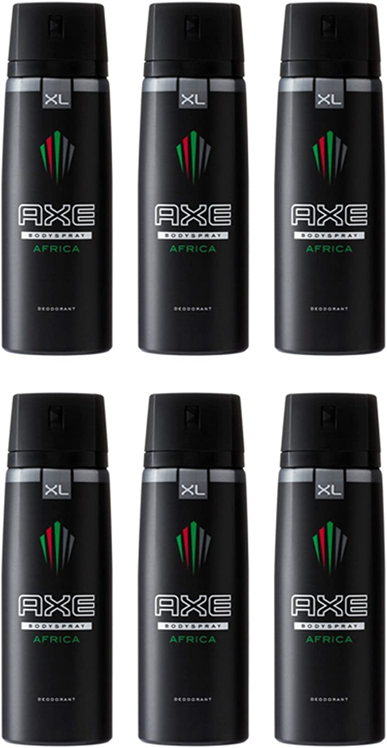 AXE DEO AFRICA XL SPRAY 200 ML PACK 6: Amazon.es: Belleza
