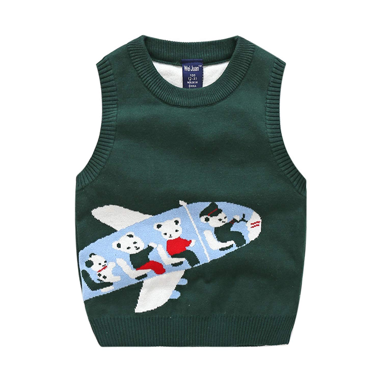 Binghang Toddler Boys Cute Bear Sweater Vest