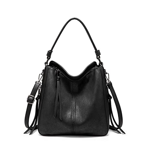 ffab7bc1bab08 Handbags for Women Large Designer Ladies Hobo bag Bucket Purse Faux Leather