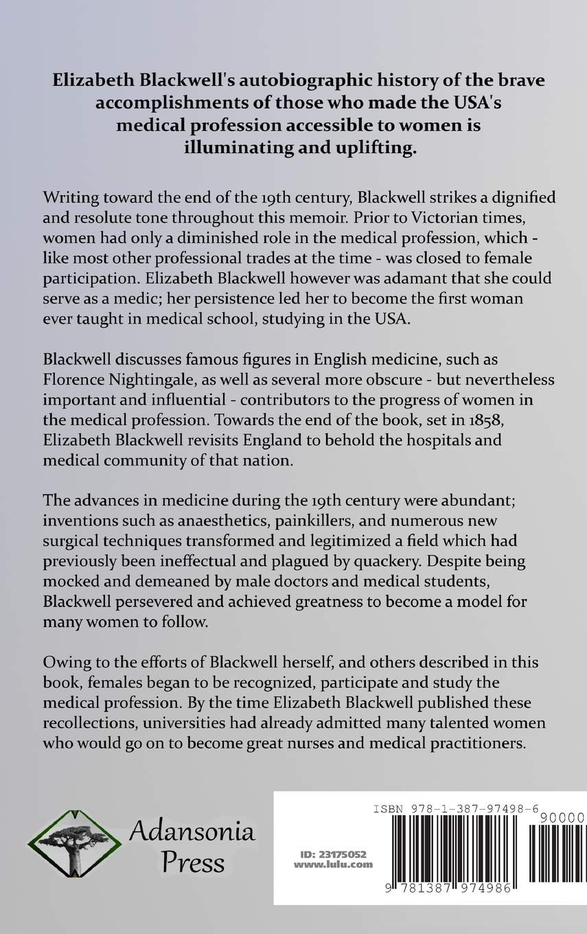elizabeth blackwell accomplishments