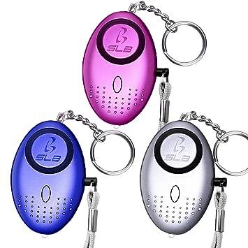 Alarma personal, SLB 3 unidades de alarma de seguridad ...