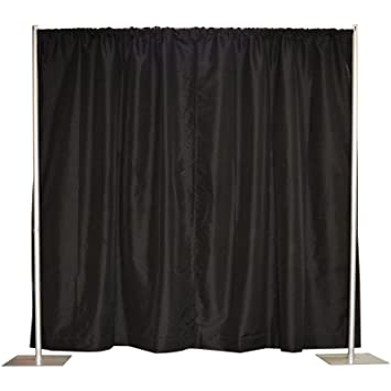amazon com pipe and drape backdrop kit in premier fabric 8 x 10
