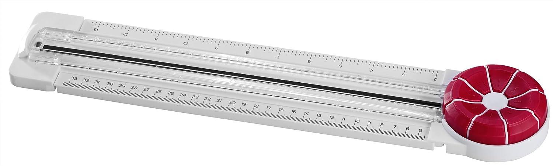 Genie MC 800 - Tagliacarta A4 con 8 possibili tagli per hobbisti creativi, bianco