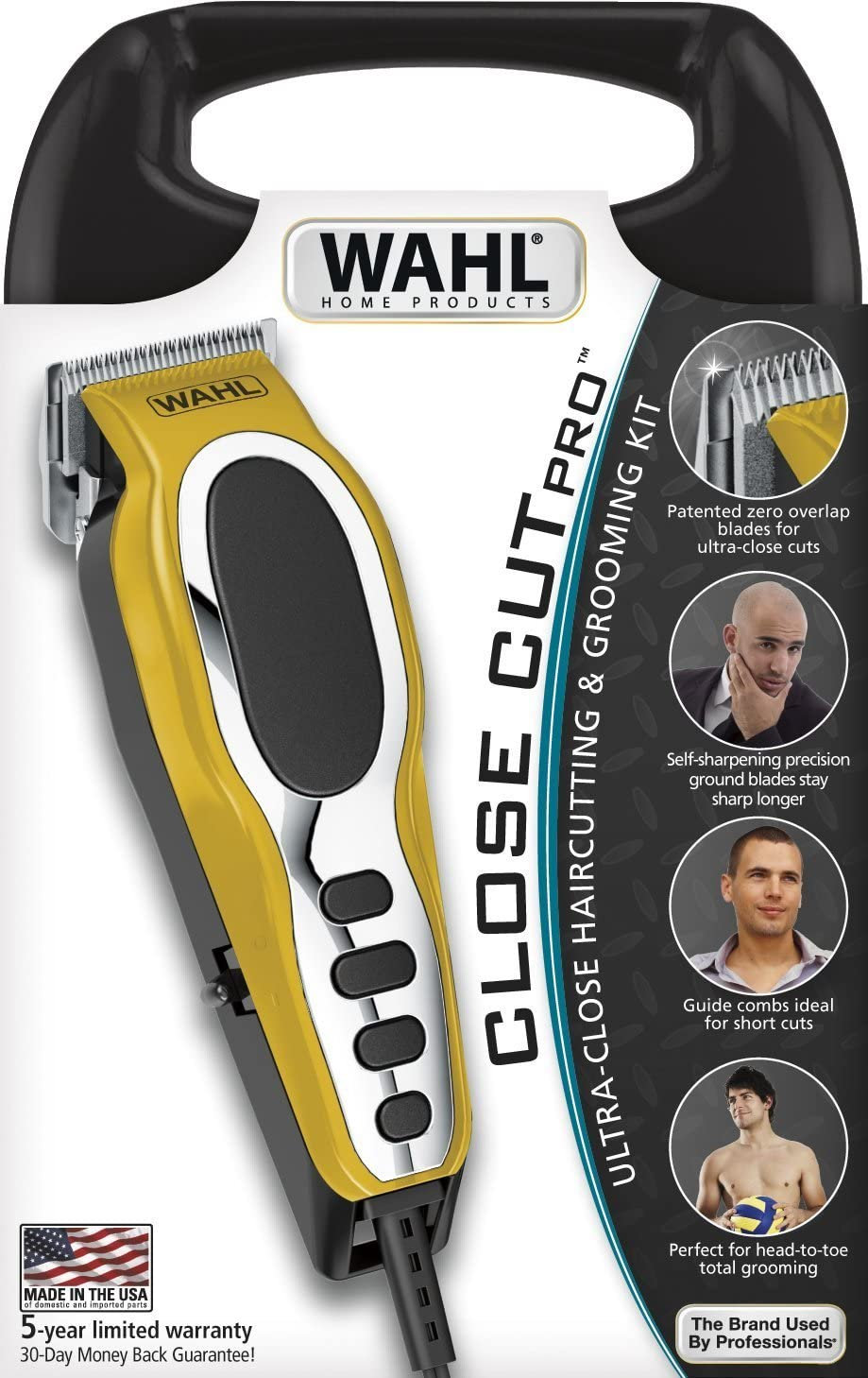 Wahl Close Cut Pro Full Body Hair Clippers