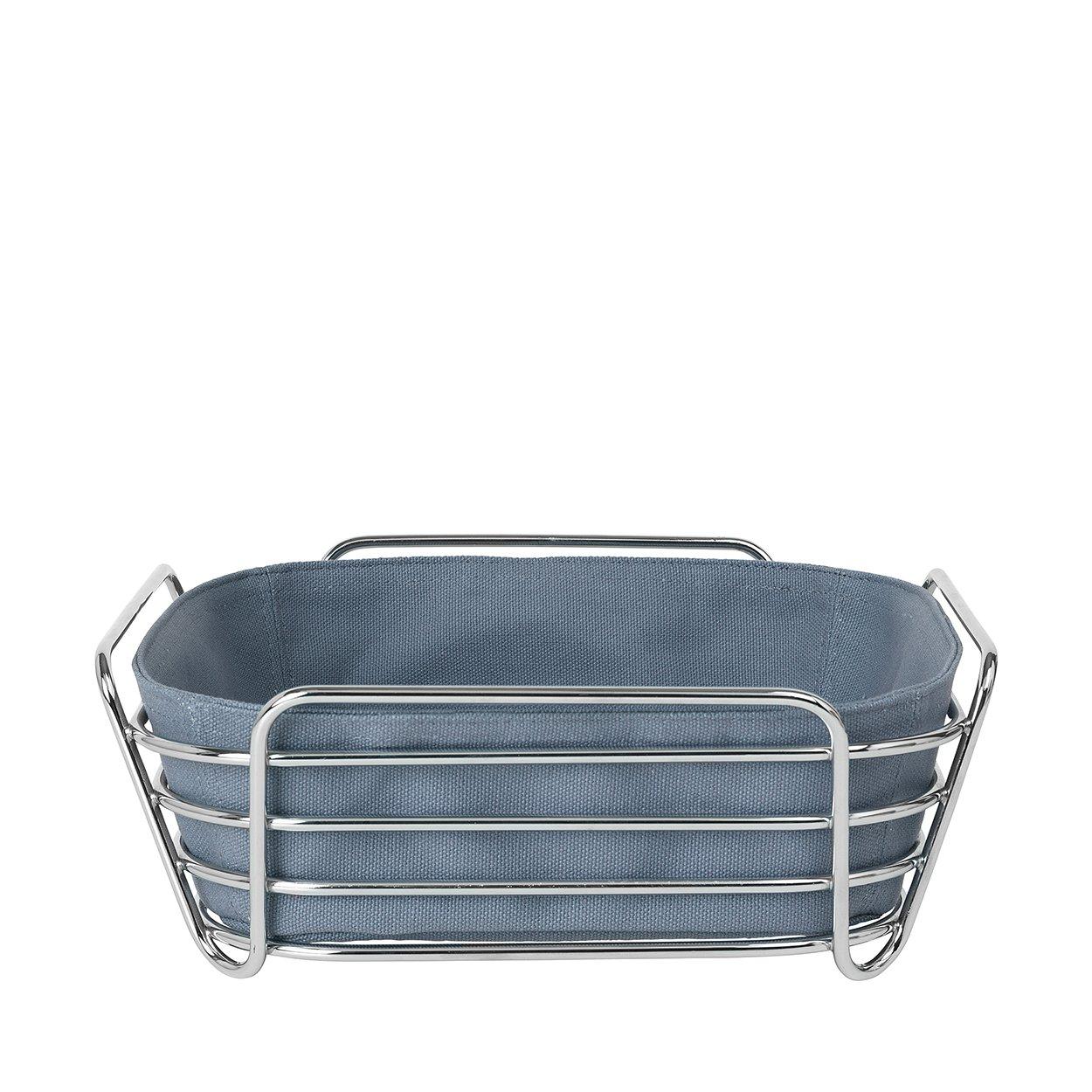 Delara Bread Basket Large 10'' x 10'', Flint Stone