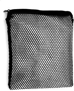 "Cooler Shock 4 Pack 10"" by 10"" mid-Size Mesh Zipper Bags - Carry, Insulate, Enhance Performance (Mid 10"" by 10"")"