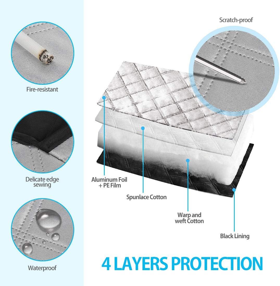 Copertura Parabrezza Auto Antighiaccio Magnetico Antigelo Impermeabile Anti UV Telo Copri Parabrezza Copertura Protezione per la Maggior Parte dei Veicoli 183x116cm LEWONPO Protezione Parabrezza
