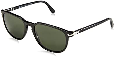 ef74342fd2f9 Amazon.com: Persol Women's PO3019S Designer Sunglasses, Black ...