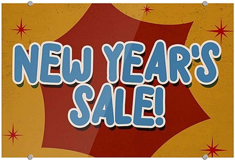 New Years Sale CGSignLab 36x24 Nostalgia Burst Premium Acrylic Sign