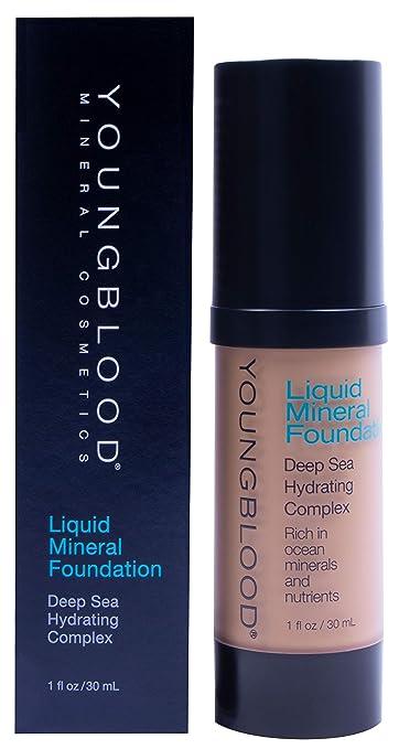 Afholte Amazon.com : YOUNGBLOOD Liquid Mineral Foundation - 1 Oz, Color KP-57