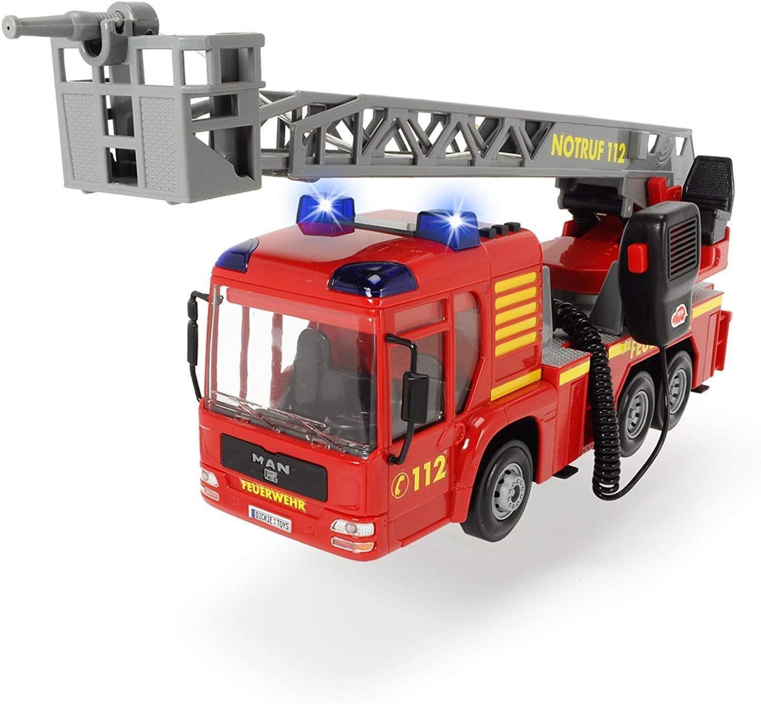 Dickie 203716003 City Fire Hero - Camión de Bomberos