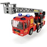 Dickie Toys 203717002 - Iveco Fire Engine, Feuerwehrauto