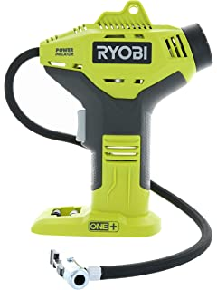 Ryobi P737 18-Volt ONE+ Portable Cordless Power Inflator for Tires (Battery Not Included