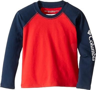 10088602 Amazon.com: Columbia Kids Baby Boy's Sandy Shores¿ Long Sleeve Sunguard ( Toddler): Clothing