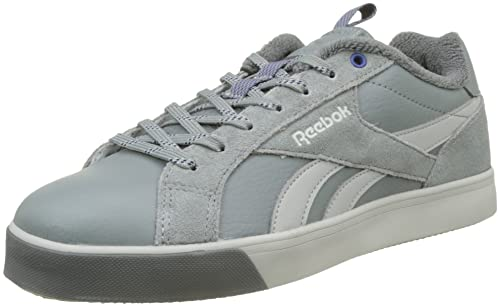 Reebok Royal Complete 2LW, Zapatillas para Hombre, Gris (Flint Grey/Skull Grey/Alloy/Deep Cobalt), 44.5 EU