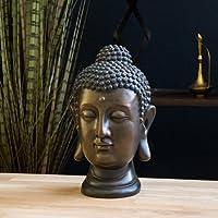 Statua del Buddha, figura 30cm, decorazione per soggiorno giardino o balcone