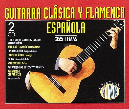 Guitarra clasica y flamenca española: Varios: Amazon.es: Música
