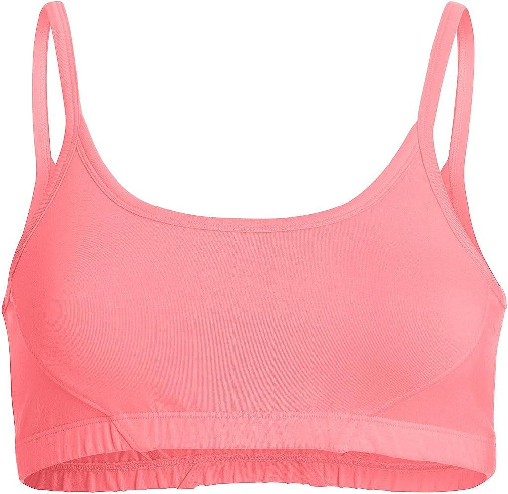 Algodón orgánico Yoga y sujetador deportivo Rosa Wear It Pink ...