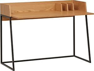 Amazon Brand – Rivet Mid-Century Desk - 35 Inch, Natural